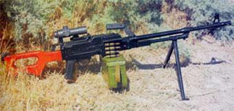 На зарубежной военной выставке будет представлен универсальный пулемет, произведенный в Азербайджане