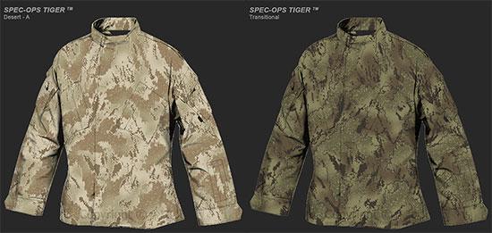 Новая линейка адаптивного камуфляжа Spec-Ops Tiger