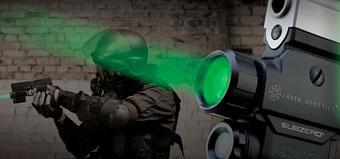 Новый лазерный прицел от LaserGenetics