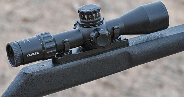 Прицел Kahles K18i был специально разработан для IPSC и 3-Gun стрелковых дисциплин
