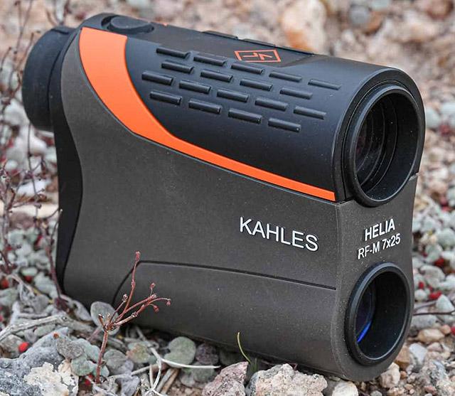 Дальномер KAHLES Helia RF-M массой 214 грамм является одним из самых легких в своём классе