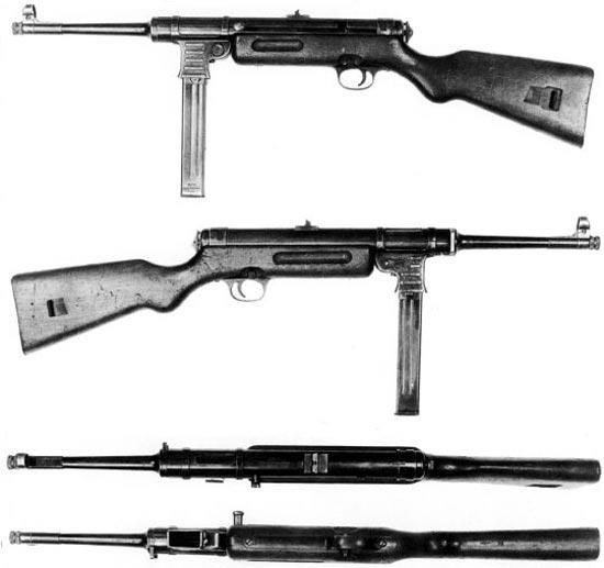 Пистолет-пулемет МР-41 - истинный Шмайссер. Пистолет-пулемет был разработан Шмайссером и выпускался фирмой Хэнель предположительно по заказу Румынии. В отличие от МР-38 и МР-40 пистолет-пулемет МР-41 имел два режима стрельбы: автоматический и nолуавтоматический.