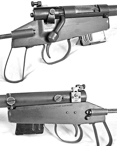 Вид на элементы управления Rifle Survival M4