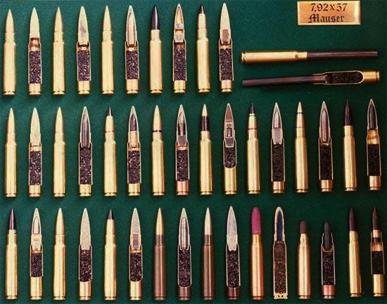 номенклатура патронов 7,92x57