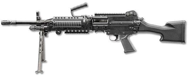 Пулемёт MK 48 Mod 1 калибра 7,62х51