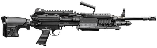 Прототип пулемёта Mk 48 Mod 2 под патрон 6,5 Creedmoor