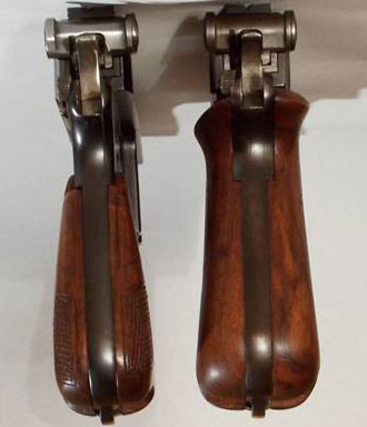 M 1910 (слева) M 1910/21 (справа)