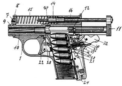 Frommer Baby устройство пистолета