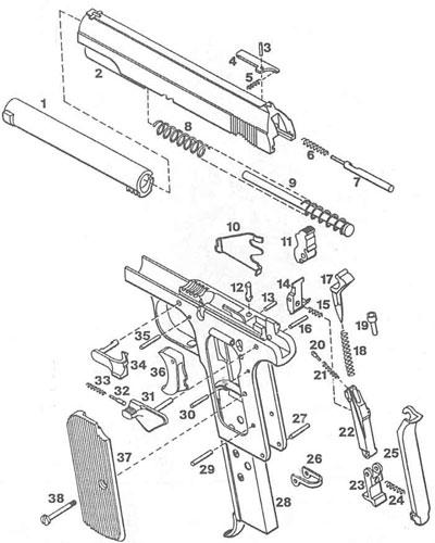 взрыв-схема P 37 (u)
