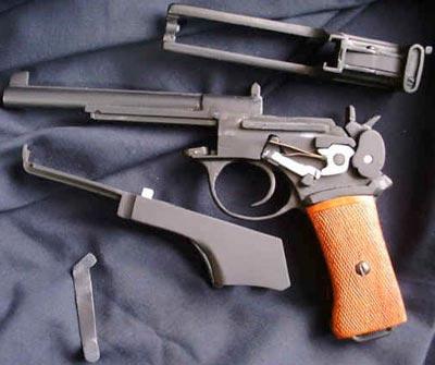 Mannlicher M1901 / M1905 неполная разборка