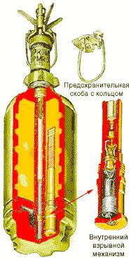 Противопехотная мина PROM-1 (ПРОМ-1)