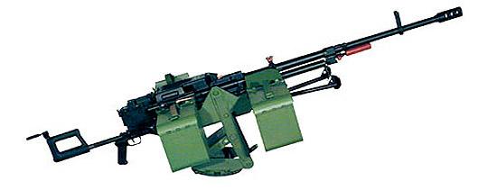 12,7-мм пулемет «Корд» на установке