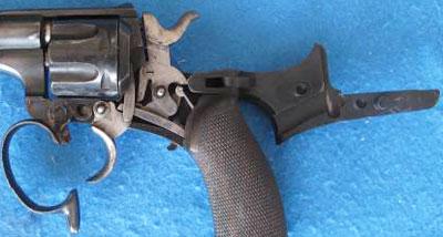 вид револьвера при осмотре и обслуживании