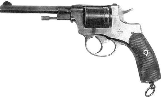 Наган обр 1892 года (прототип Нагана обр 1895 г)