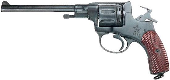 «Спортивный» Наган обр 1895 года под патрон калибра 5.6 мм (.22 LR)