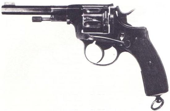 Nagant M 1884 Luxemburg Safety