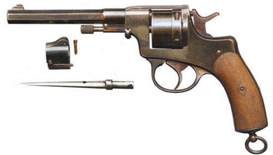 Nagant M 1884 Luxemburg Gendarme с отсоединенным штыком и муфтой