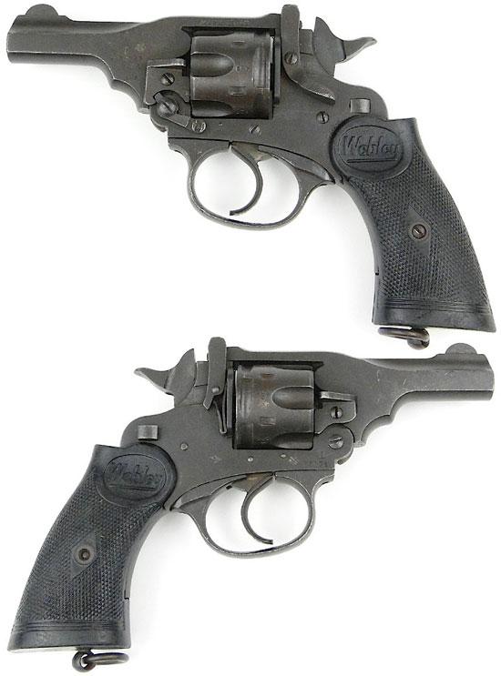 Webley Mk IV Pocket Model с предохранителем, блокирующим курок и рукояткой от Webley .38 Mk IV