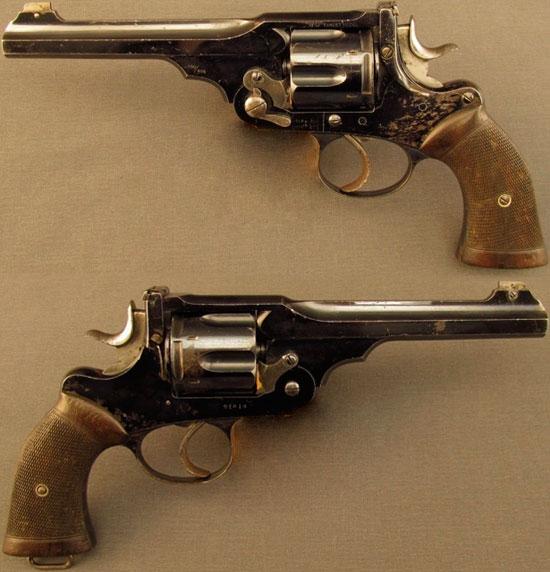 Webley «WG» Target Model образца 1896 года с длиной ствола 6 дюймов (152 мм)