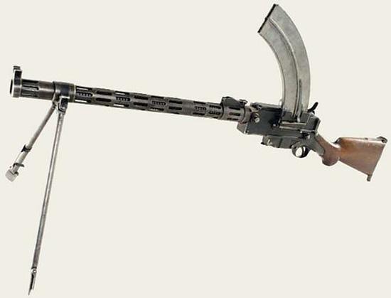 Ручной пулемет Madsen модели 1902 года