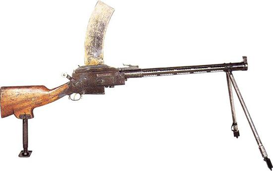 Ручной пулемет Мадсена