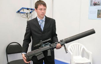 12,7-мм бесшумная снайперская винтовка СВ-1367