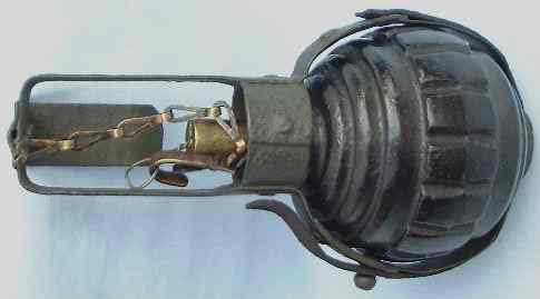 Kugelhandgranate 15 в «корзинке»