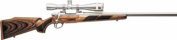 Охотничий карабин Sako 75 Varmint Laminated с оптическим прицелом