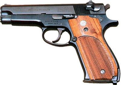 9-мм пистолет Smith & Wesson M 39-2