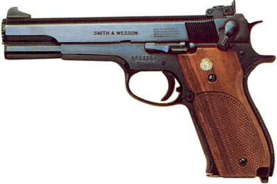 9-мм пистолет Smith & Wesson M 52