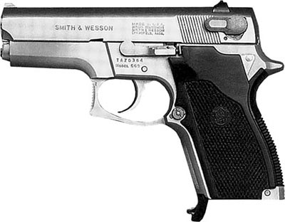 9-мм пистолет Smith & Wesson M 669