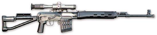 Снайперская винтовка СВДС