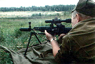 «Снайперский автомат» СВУ-АС – нечто среднее между снайперской винтовкой и ручным пулеметом