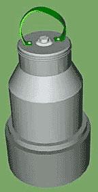 Стандартный кумулятивный заряд ВВ КЗ-6