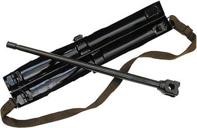 Запасной ствол с футляром единого пулемета MG.42