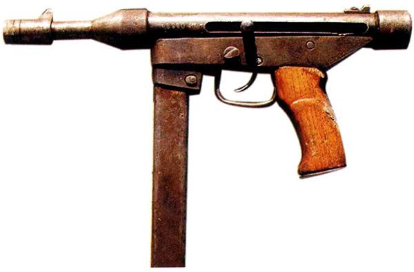 Образцы необычного трофейного оружия, изъятого на Северном Кавказе