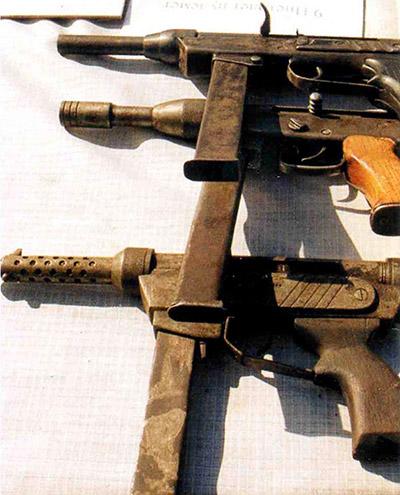 Некоторые образцы необычного трофейного оружия, изъятого на Северном Кавказе