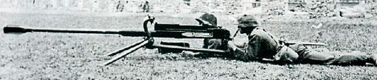 Tb.41 при стрельбе с треноги