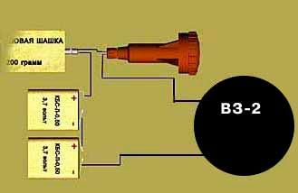 Вибрационный замыкатель ВЗ-2 (ВЗ-1)