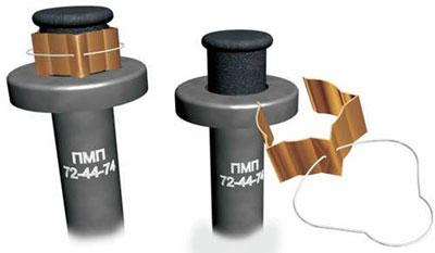 Обращение с миной предельно просто – нужно лишь откинуть проволочное кольцо на предохранительной скобе и, потянув за него, снять с мины эту скобу