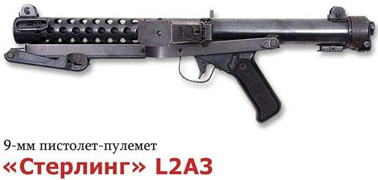 9-мм пистолет-пулемет «Стерлинг» L2A3