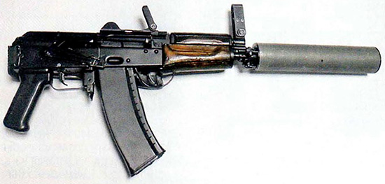 АКСУ74МБ с глушителем АКБ11