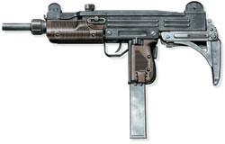 Пистолет-пулемет «узи», Израиль, 1956 г.