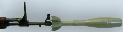винтовочная граната на стволе Zastava M70