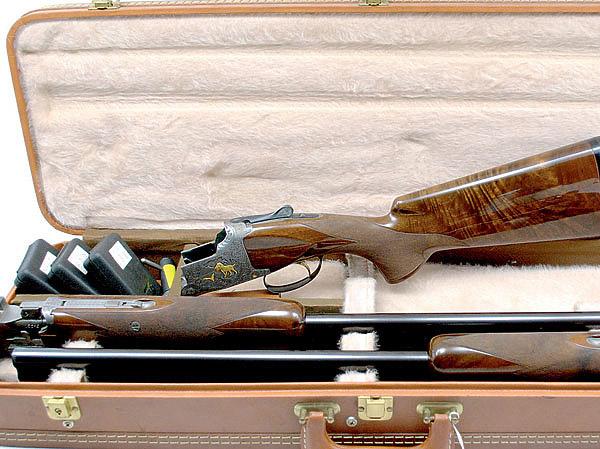 Ружье может комплектоваться как одной, так и несколькими парами стволов
