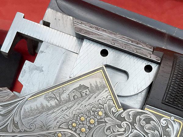 Вариант ружья, богато украшенного гравировкой