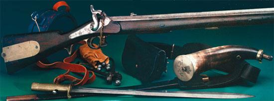 Загадка истории: эта часто хулимая дульнозарядная винтовка оставалась основным образцом оружия почти сорок лет.
