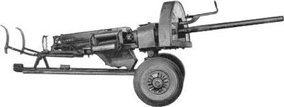 15-мм крупнокалиберный пулемет MG.151/15 в варианте зенитного пулемета