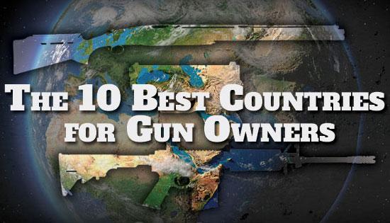Десятка стран с наиболее лояльным оружейным законодательством