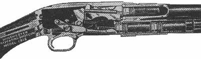 Winchester M1912 затвор закрыт
